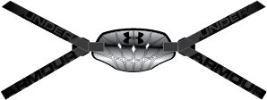 Boys' UA Gameday Armour® Pro Chin Strap, Silver,