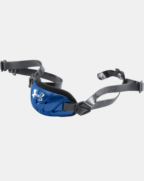 Boys' UA Gameday Armour® Pro Chin Strap, Blue, pdpMainDesktop image number 0