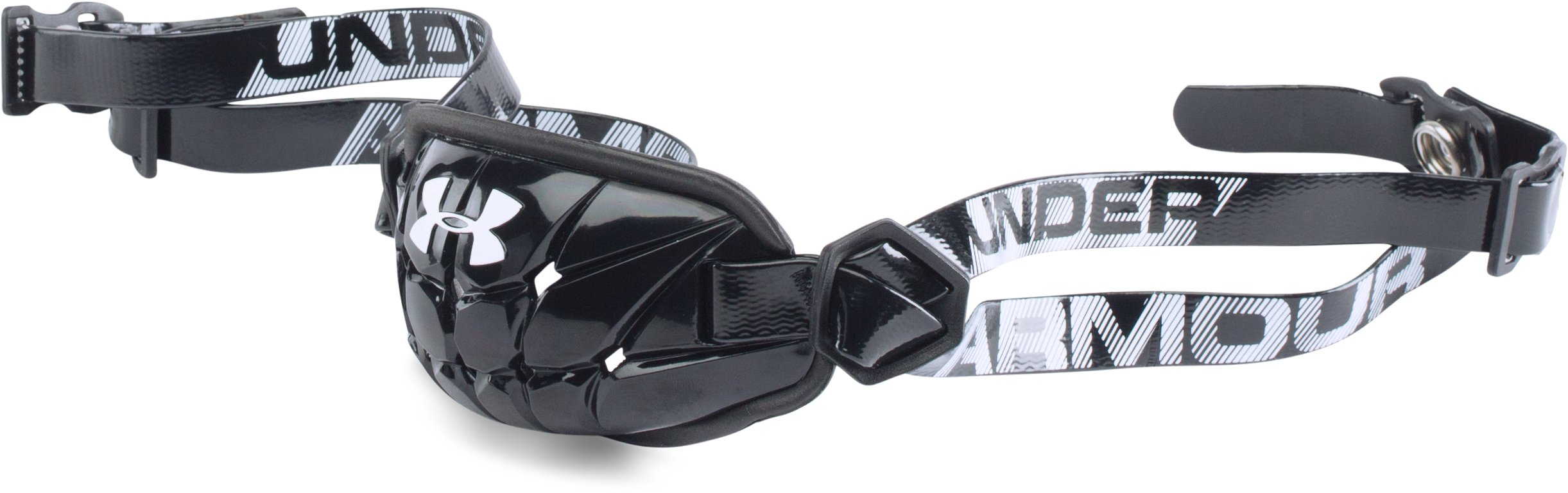 secure straps Men's UA Gameday Armour® Chin Strap It was wonderful!...Great price too!!!...He swears it is the best strap ever