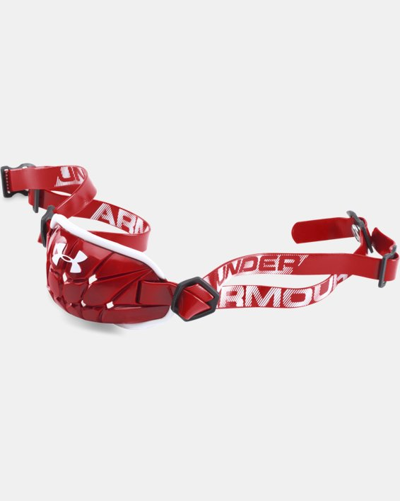 Men's UA Gameday Armour® Chin Strap, Red, pdpMainDesktop image number 0