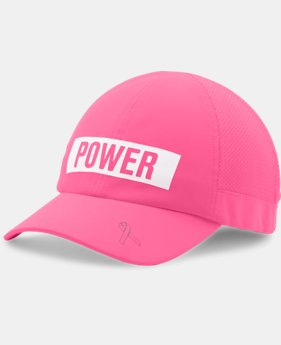 Women's UA Power In Pink® Fly Fast Cap