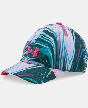 Girls' UA Armour Printed Cap LIMITED TIME: FREE SHIPPING 1 Color $17.99