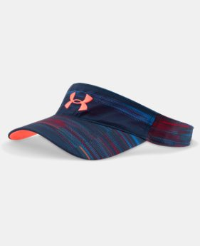 Girls' UA Armour Printed Visor  1 Color $15.99