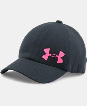 New Arrival Girls' UA Storm Big Logo Cap  1 Color $17.99