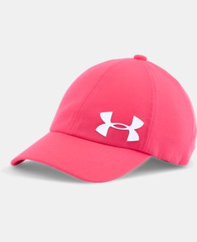 New Arrival Girls' UA Storm Big Logo Cap  2 Colors $17.99 to $19.99