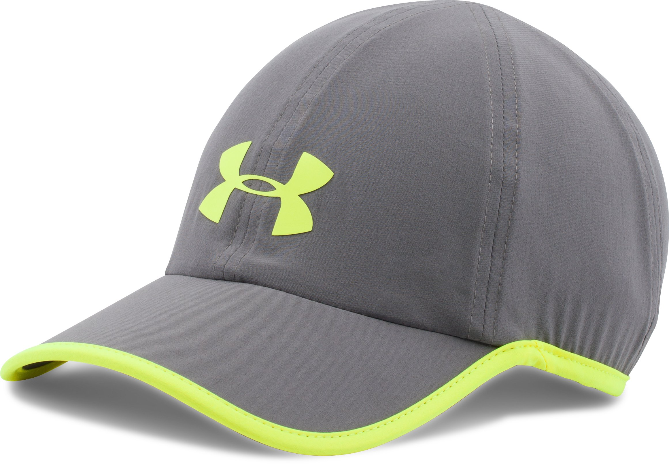 Men's UA Run Cap, Graphite, undefined