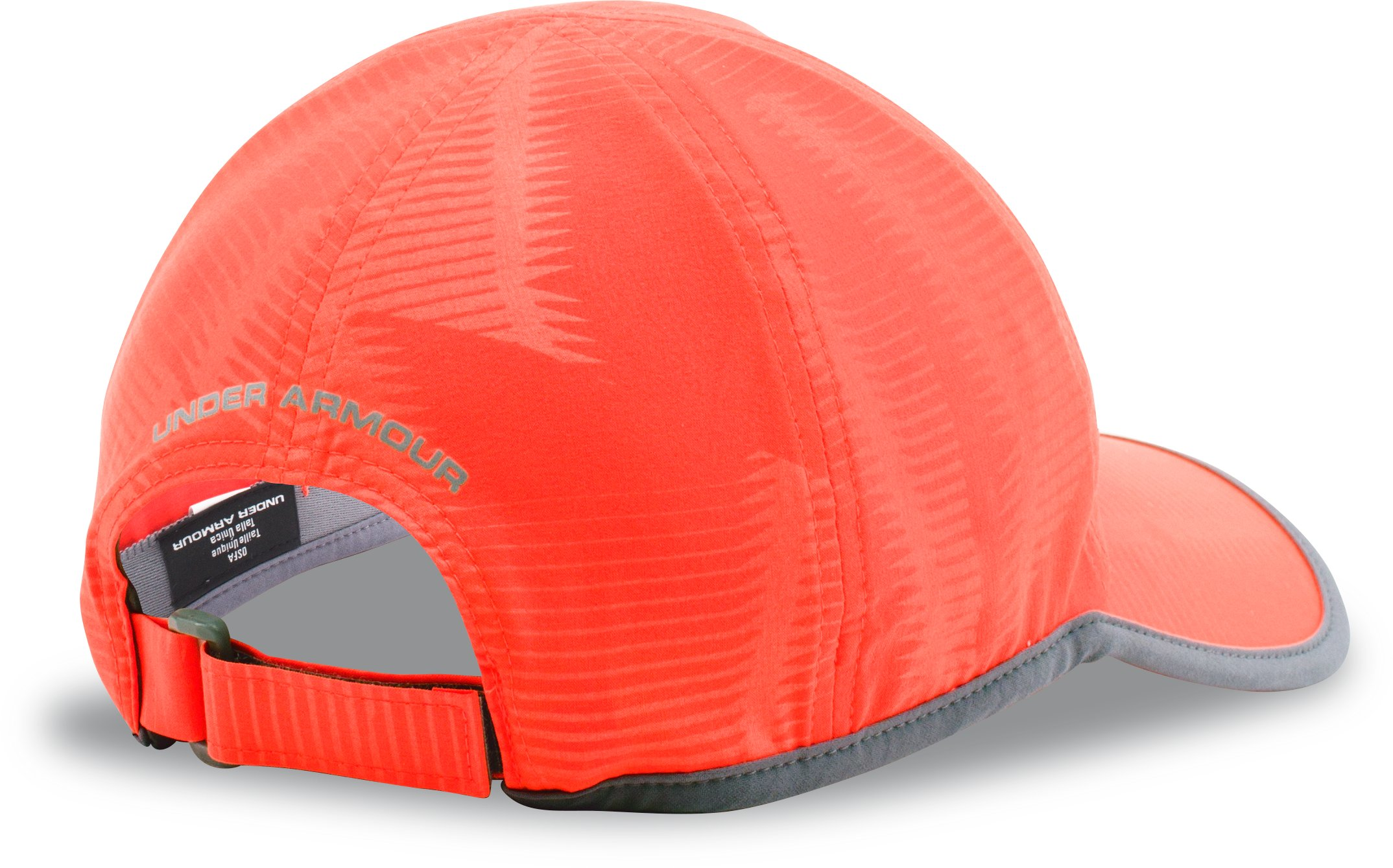 Men's UA Run Cap, BOLT ORANGE,