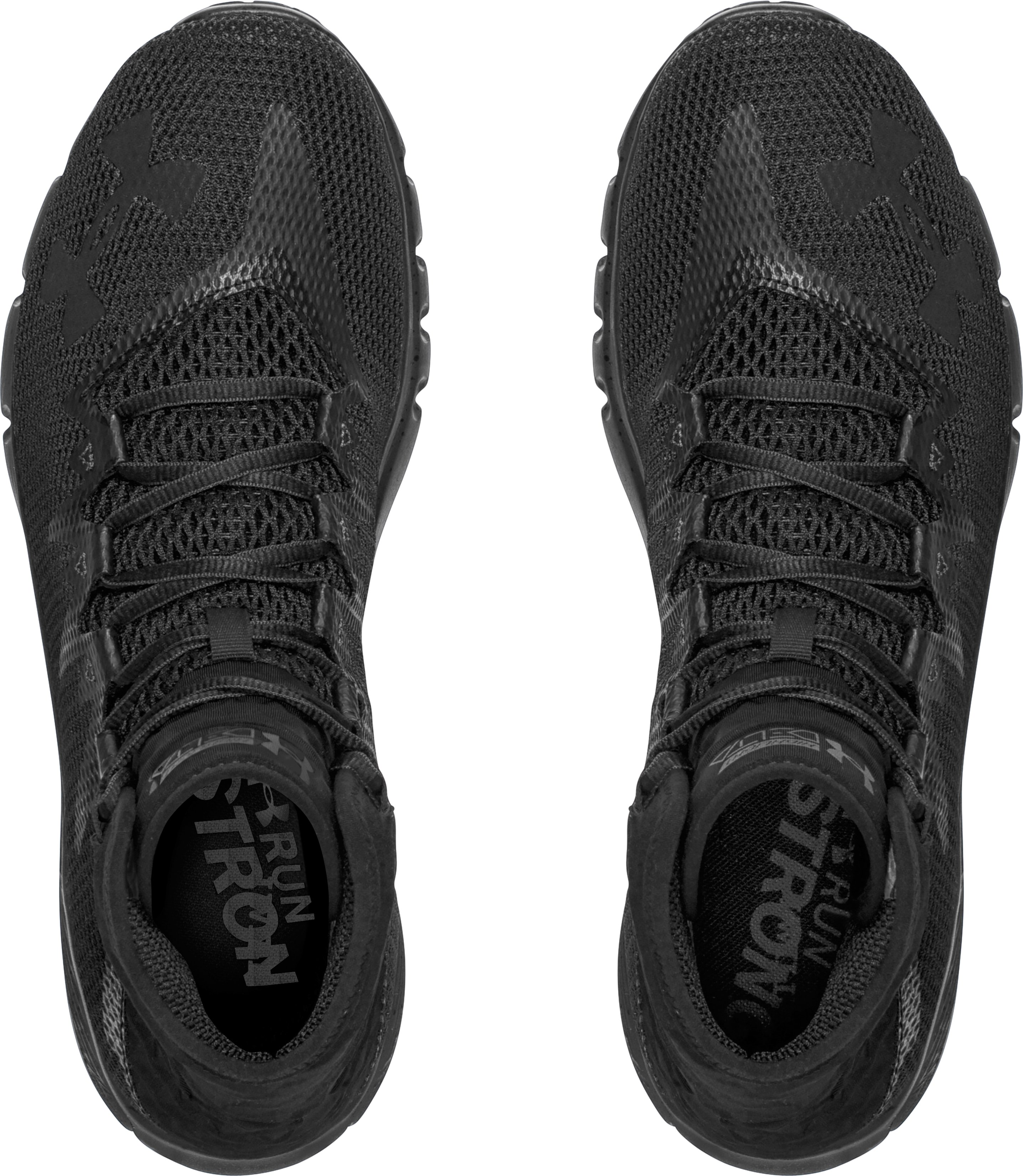 Men's UA Highlight Delta Running Shoes, Black , undefined