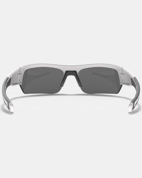 UA Big Shot Multiflection™ Sunglasses, White, pdpMainDesktop image number 1