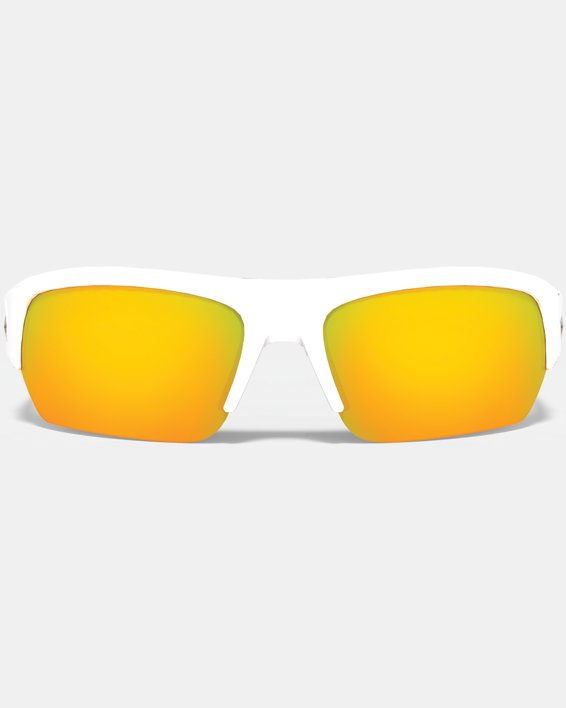 UA Big Shot Multiflection™ Sunglasses, White, pdpMainDesktop image number 0