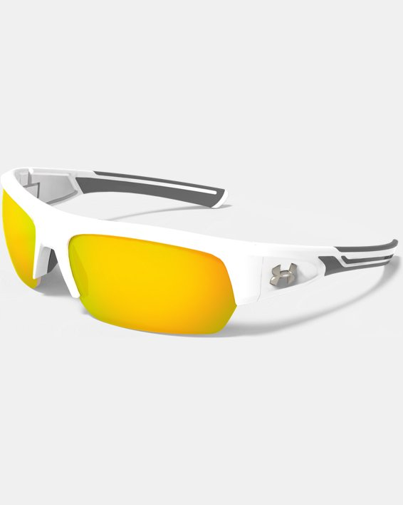 UA Big Shot Multiflection™ Sunglasses, White, pdpMainDesktop image number 2