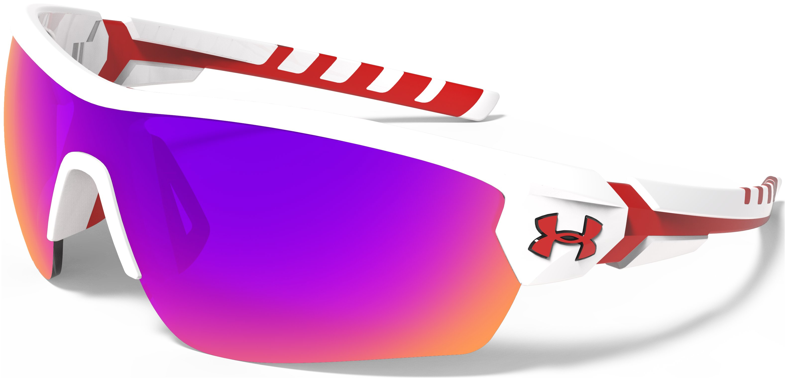 UA Rival Sunglasses, Shiny White