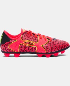 Girls' UA CF Force 2.0 HG Jr. Soccer Cleats