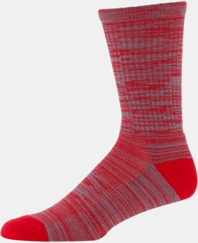 Men's UA Twist Tech Crew Socks