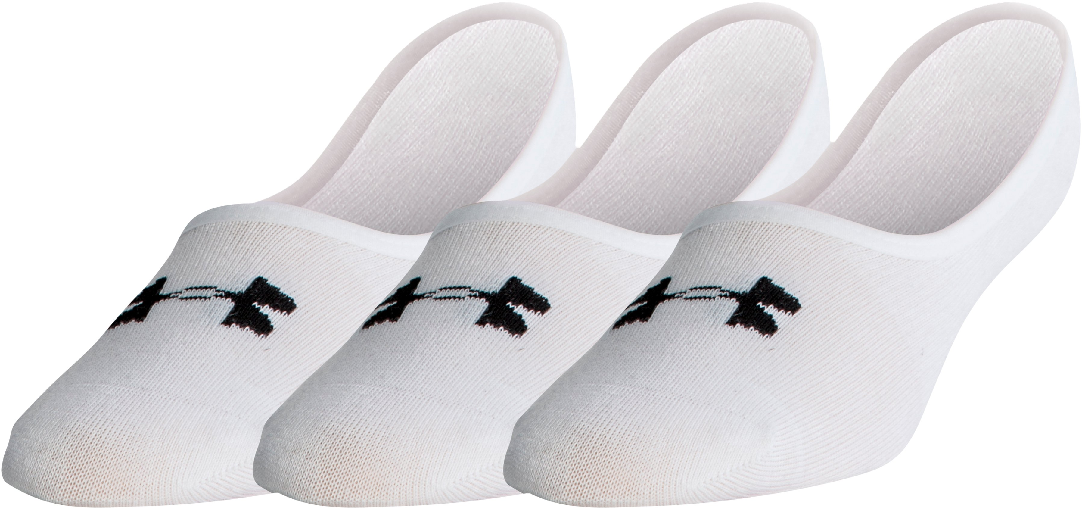 Men's UA Lo Lo Socks 3-Pack, White