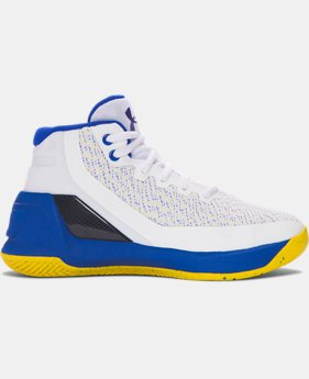 Pre-School UA Curry 3 Basketball Shoes LIMITED TIME: FREE SHIPPING 1 Color $99.99