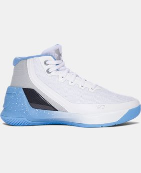 Pre-School UA Curry 3 Basketball Shoes  13 Colors $59.99