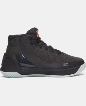 Pre-School UA Curry 3 Basketball Shoes  9 Colors $79.99