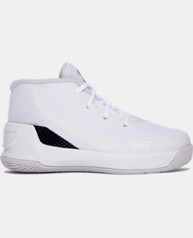 Infant UA Curry 3 Basketball Shoes  4 Colors $34.99 to $44.99