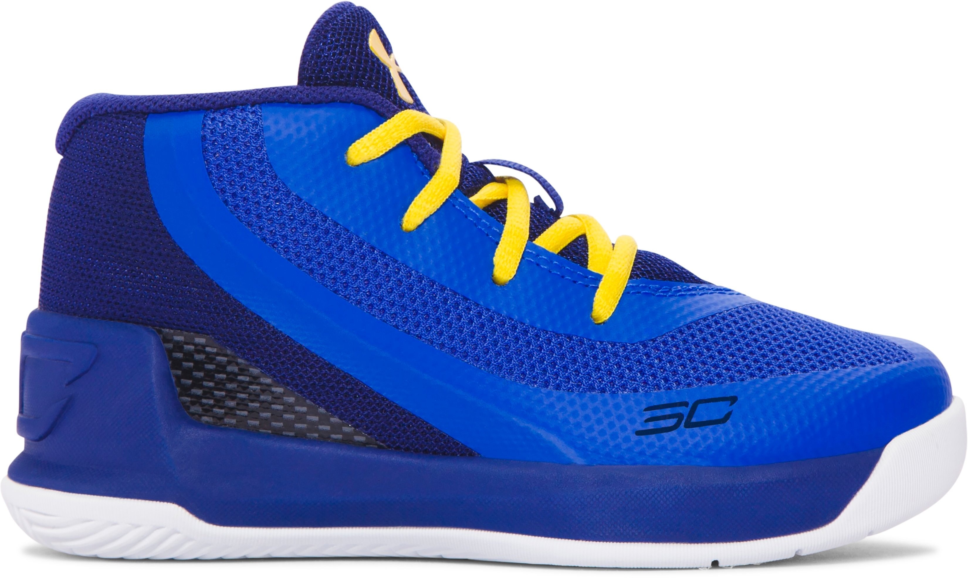 Infant UA Curry 3 Basketball Shoes, Dub Nation Heritage