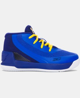 New Arrival  Infant UA Curry 3 Basketball Shoes   $69.99