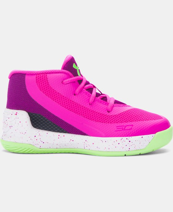 New Arrival Infant UA Curry 3 Basketball Shoes LIMITED TIME: FREE U.S. SHIPPING 1 Color $59.99
