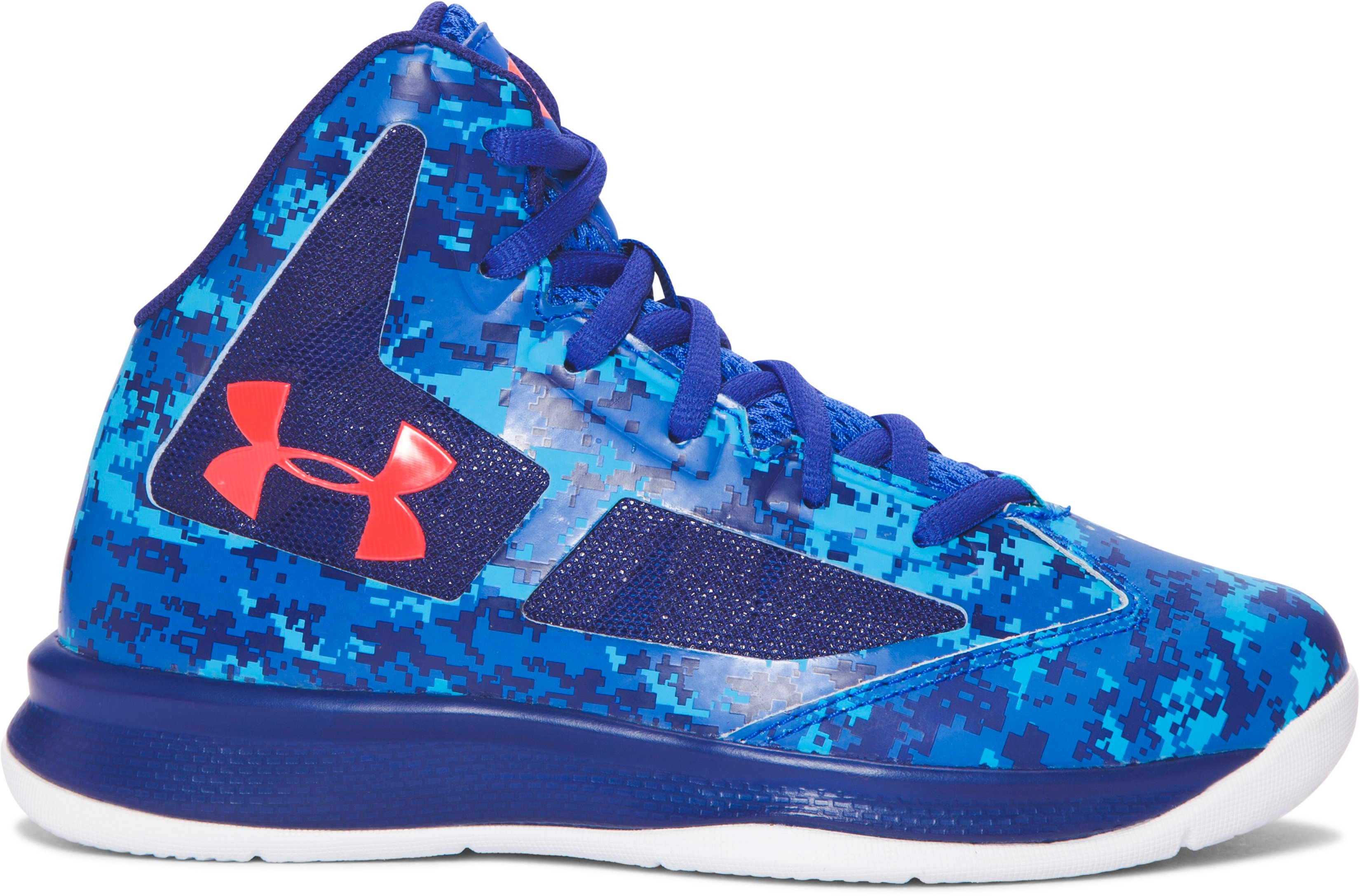 Boys' Pre-School UA Lightning Basketball Shoes, ULTRA BLUE