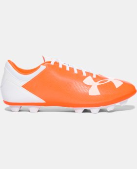 New to Outlet Girls' UA Spotlight DL FG-R Jr. Soccer Cleats  1 Color $22.99