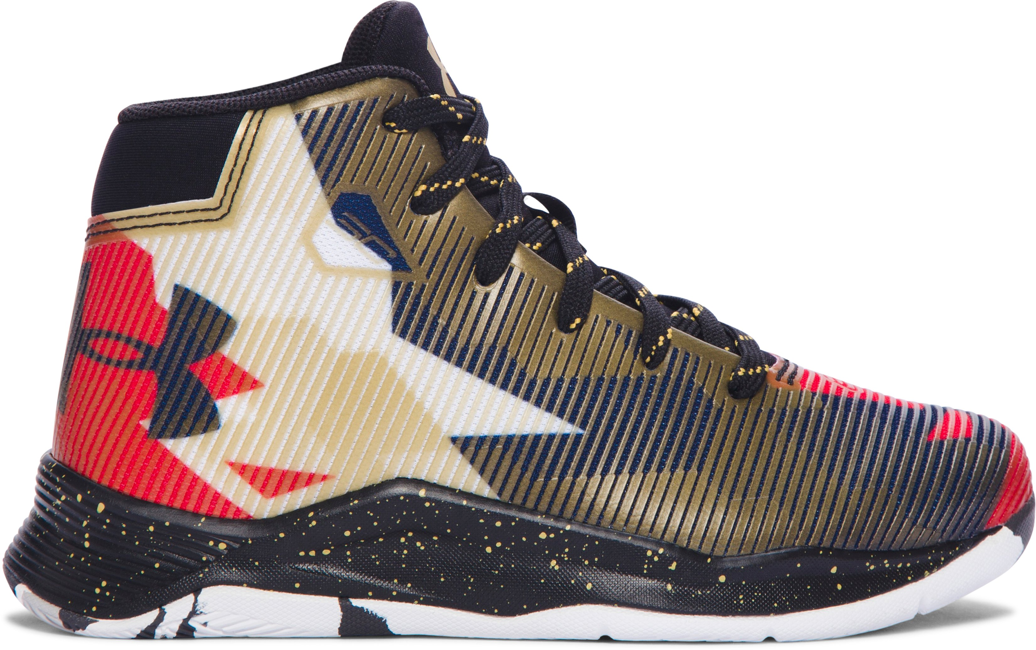 Kids' Pre-School UA Curry 2.5 Basketball Shoes, Heavy Metal
