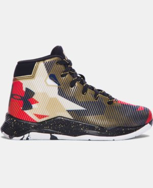 Kids' Pre-School UA Curry 2.5 Basketball Shoes LIMITED TIME: FREE SHIPPING 1 Color $56.99