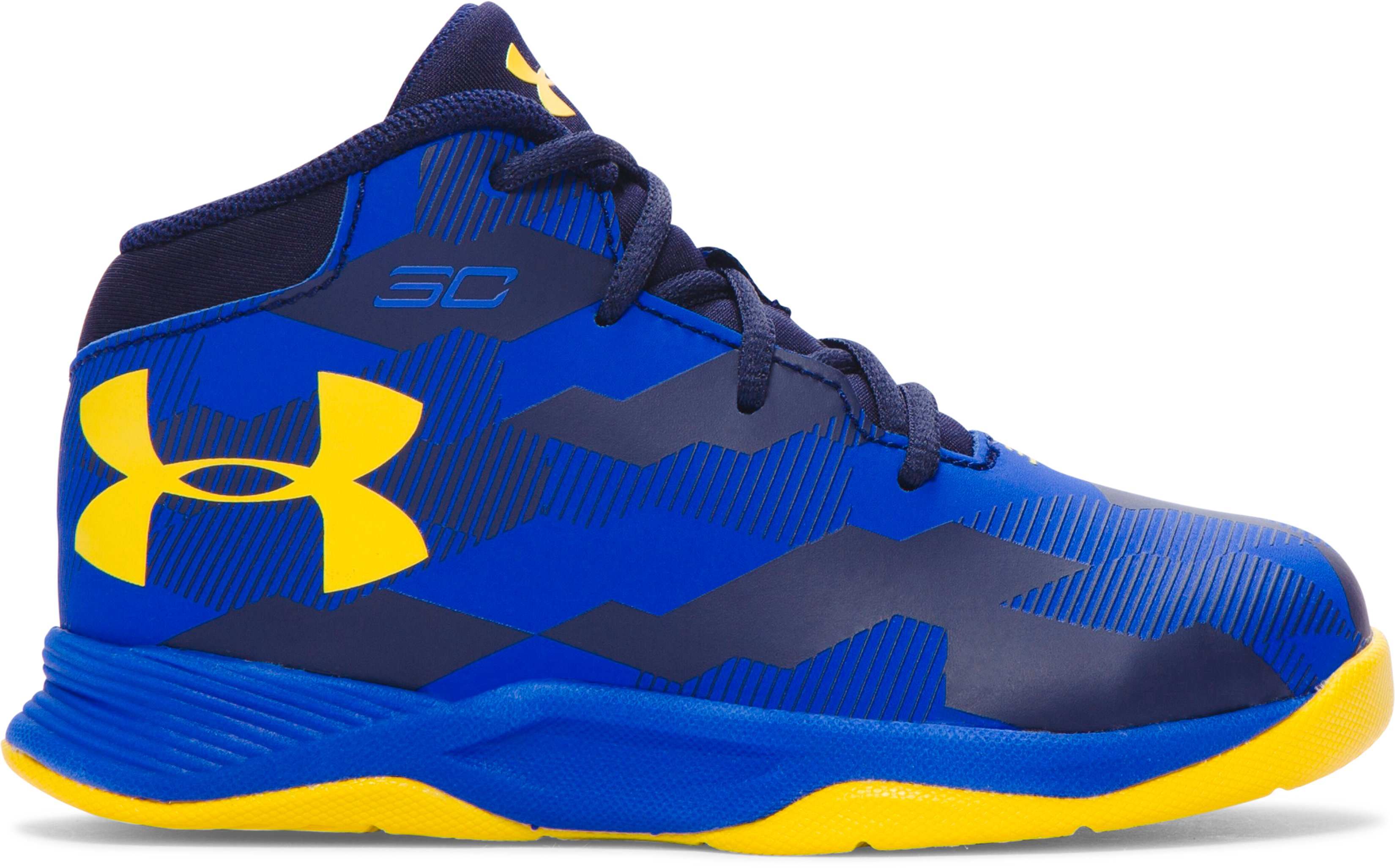 Boys' Infant UA Curry 2.5 Basketball Shoes, TEAM ROYAL