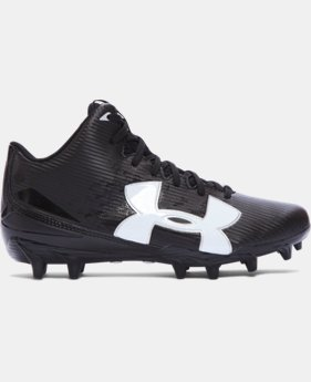 Boys' UA Fierce Phantom Mid MC Jr. Football Cleats   $35.99
