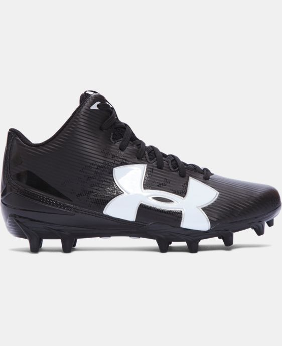 Boys' UA Fierce Phantom Mid MC Jr. Football Cleats   $49.99