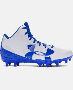 Boys' UA Fierce Phantom Mid MC Jr. Football Cleats LIMITED TIME: FREE U.S. SHIPPING 2 Colors $44.99