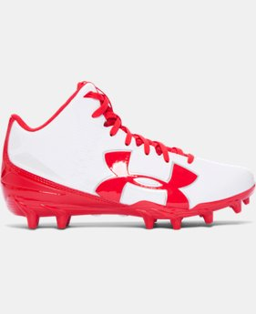 Boys' UA Fierce Phantom Mid MC Jr. Football Cleats