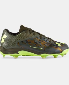 Men's UA Deception Low Baseball Cleats — Limited Edition   $82.99