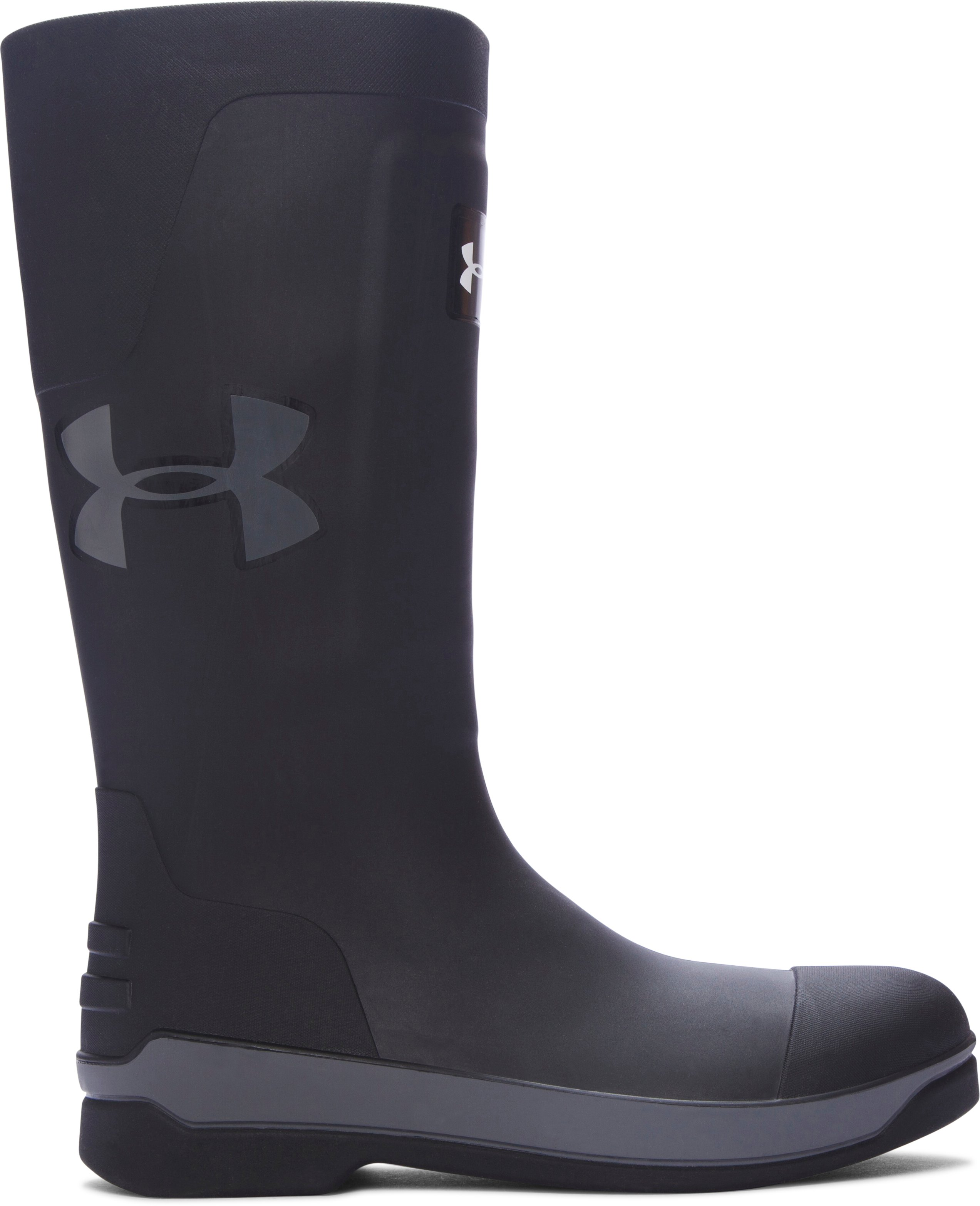 Men's UA Hardtack Boots, Black ,