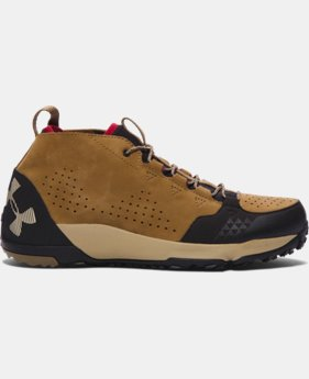 Men's UA Burnt River Leather Hiking Boots  1 Color $94.99