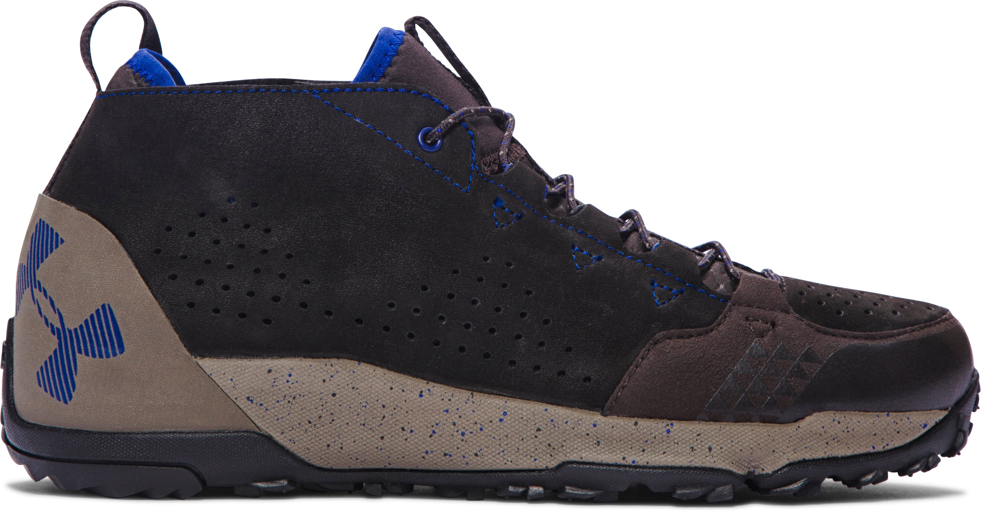 Men's UA Burnt River Leather Hiking Boots, CANNON