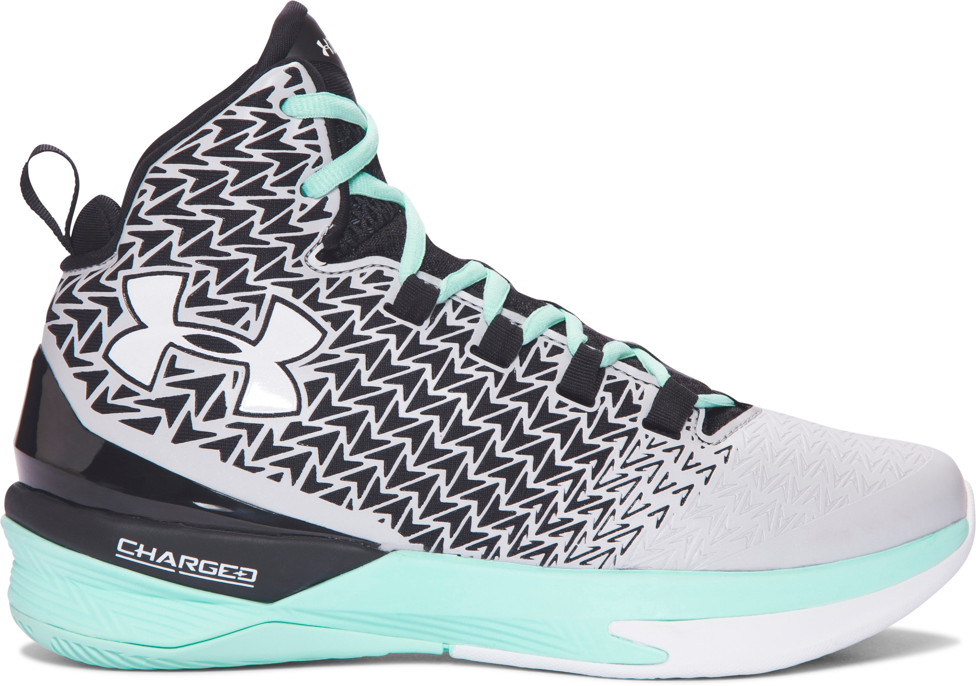 Women's UA ClutchFit® Drive 3 Basketball Shoes, Aluminum