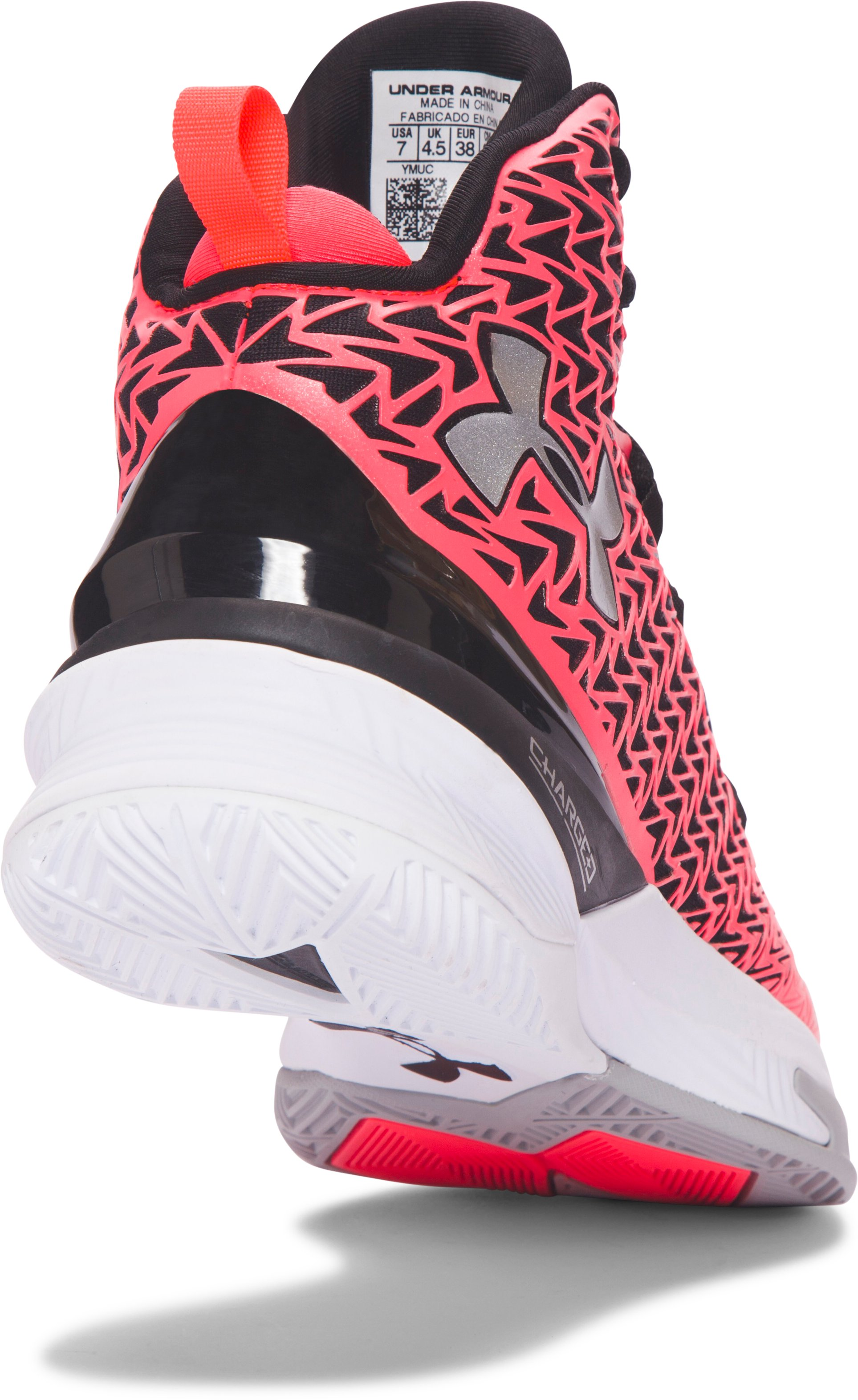 Women's UA ClutchFit® Drive 3 Basketball Shoes, PINK CHROMA,