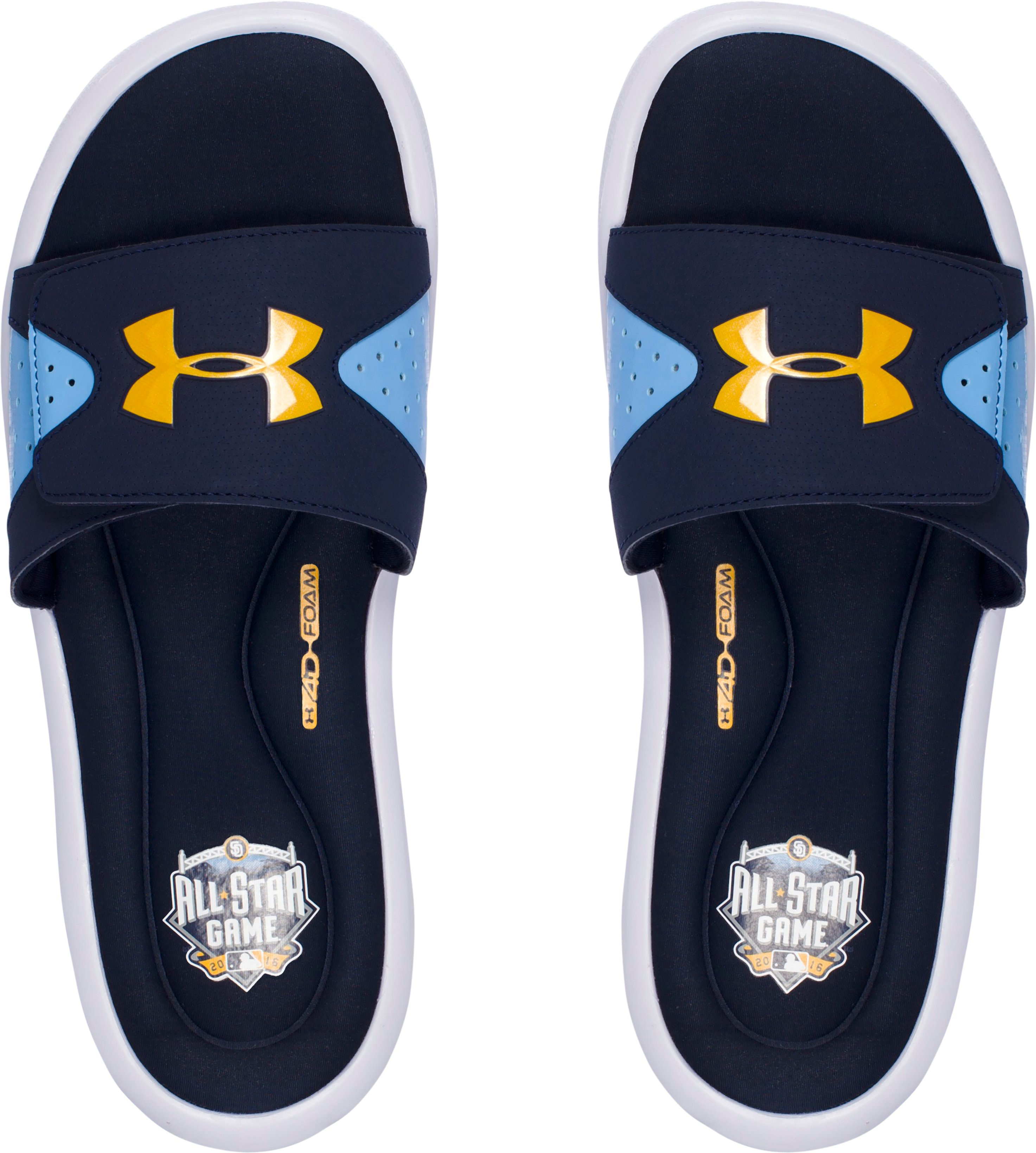 Men's UA Ignite IV Sandals – MLB All-Star Game Edition, Midnight Navy