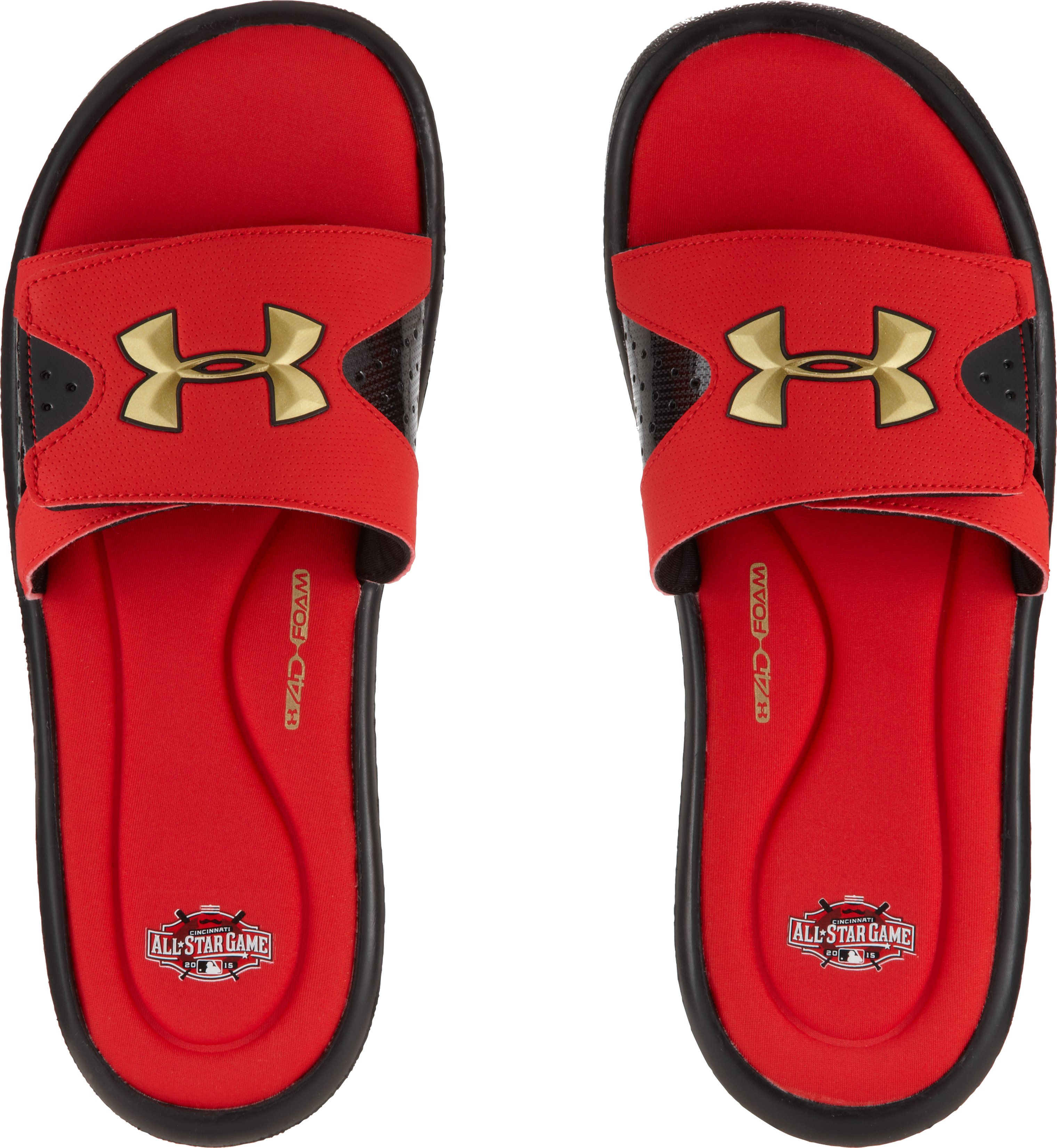 Men's UA Ignite IV Sandals – MLB All-Star Game Edition, Red,