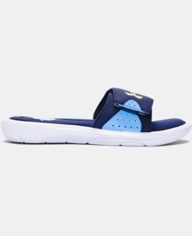 Boys' UA Ignite IV Team Sandals — MLB All-Star Game Edition  1 Color $29.99