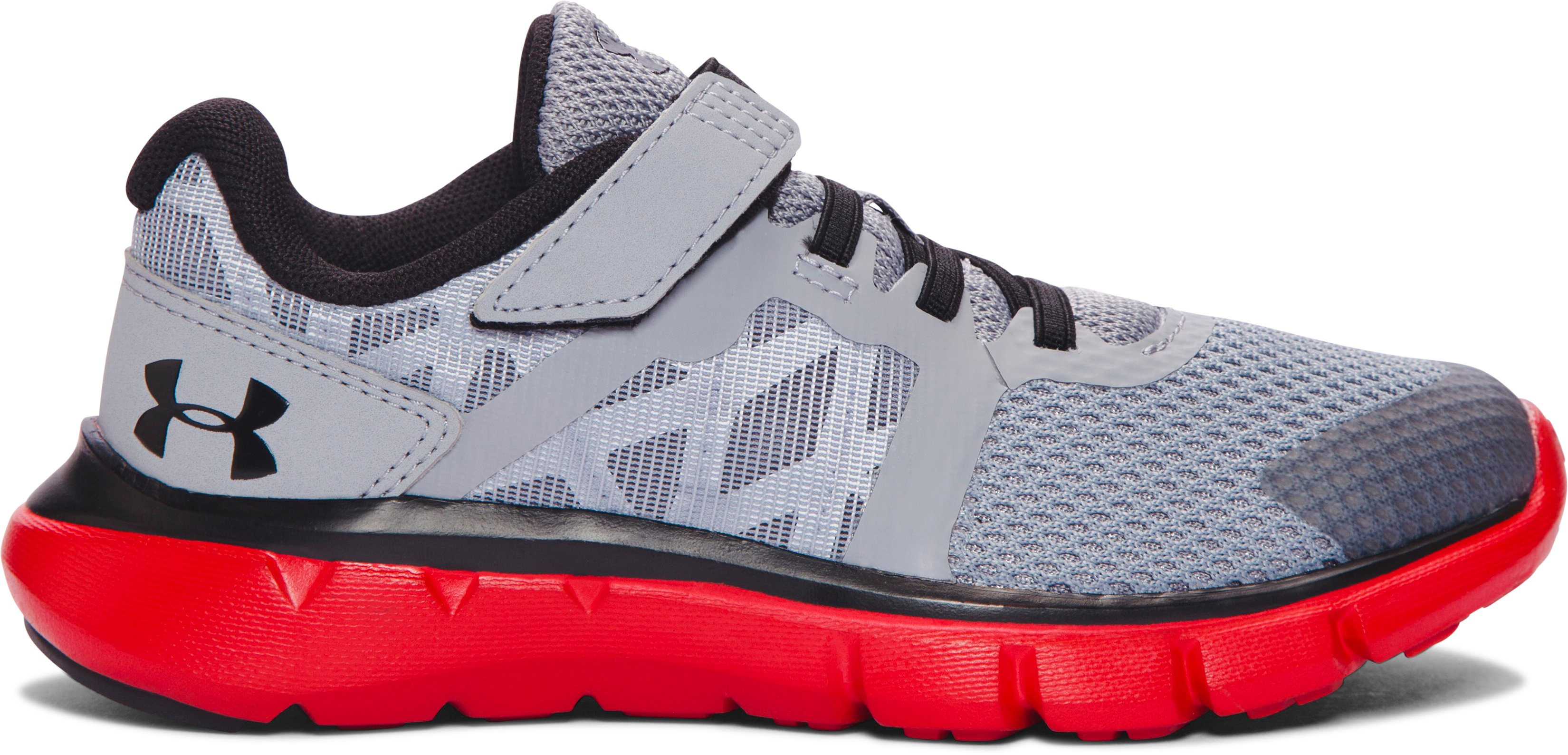 Boys' Pre-School UA Shift AC Running Shoes, Steel, zoomed image