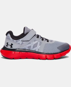 New Arrival Boys' Pre-School UA Shift AC Running Shoes   $54.99