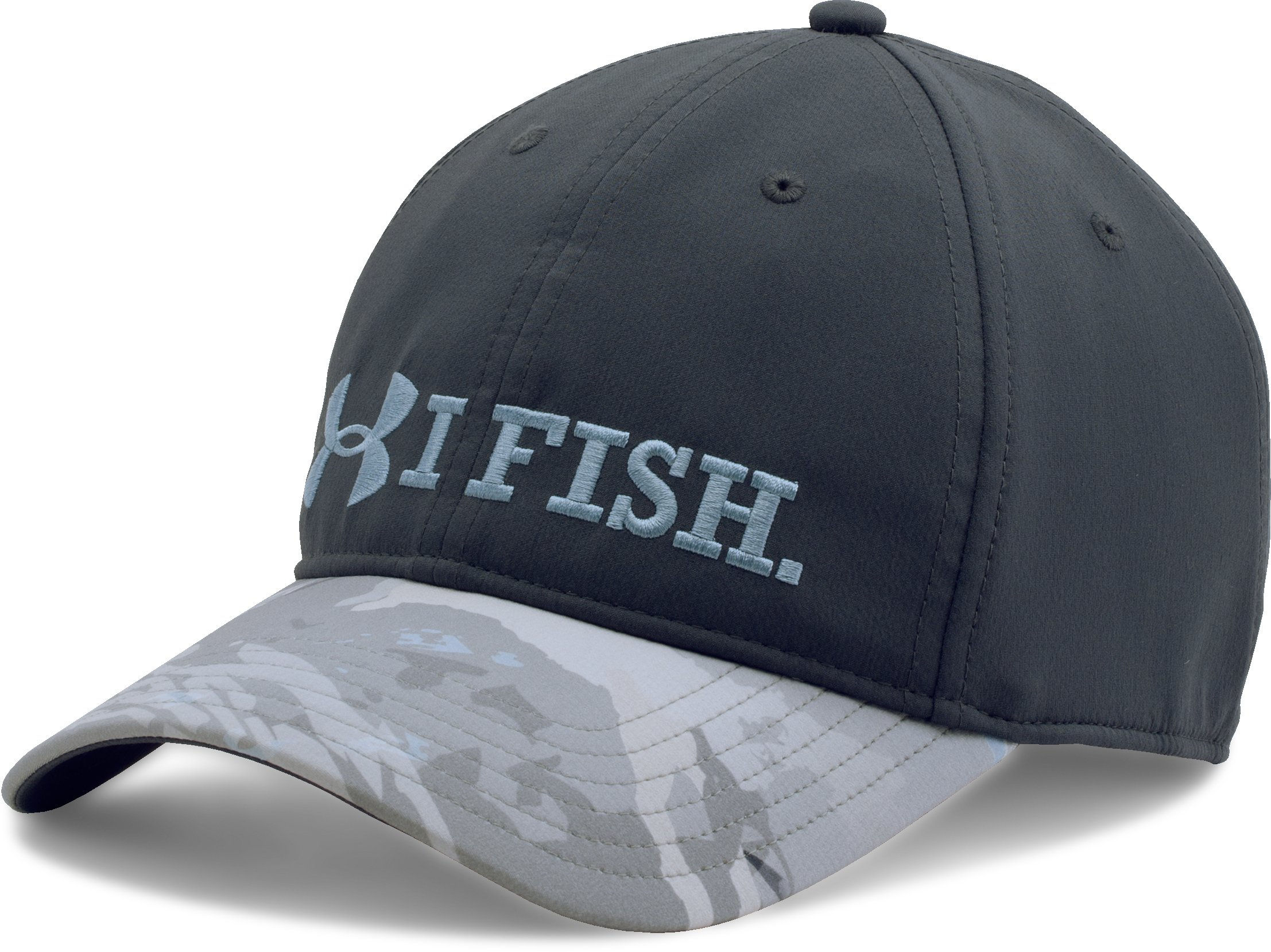 Men's UA I Fish Cap, STEALTH GRAY,