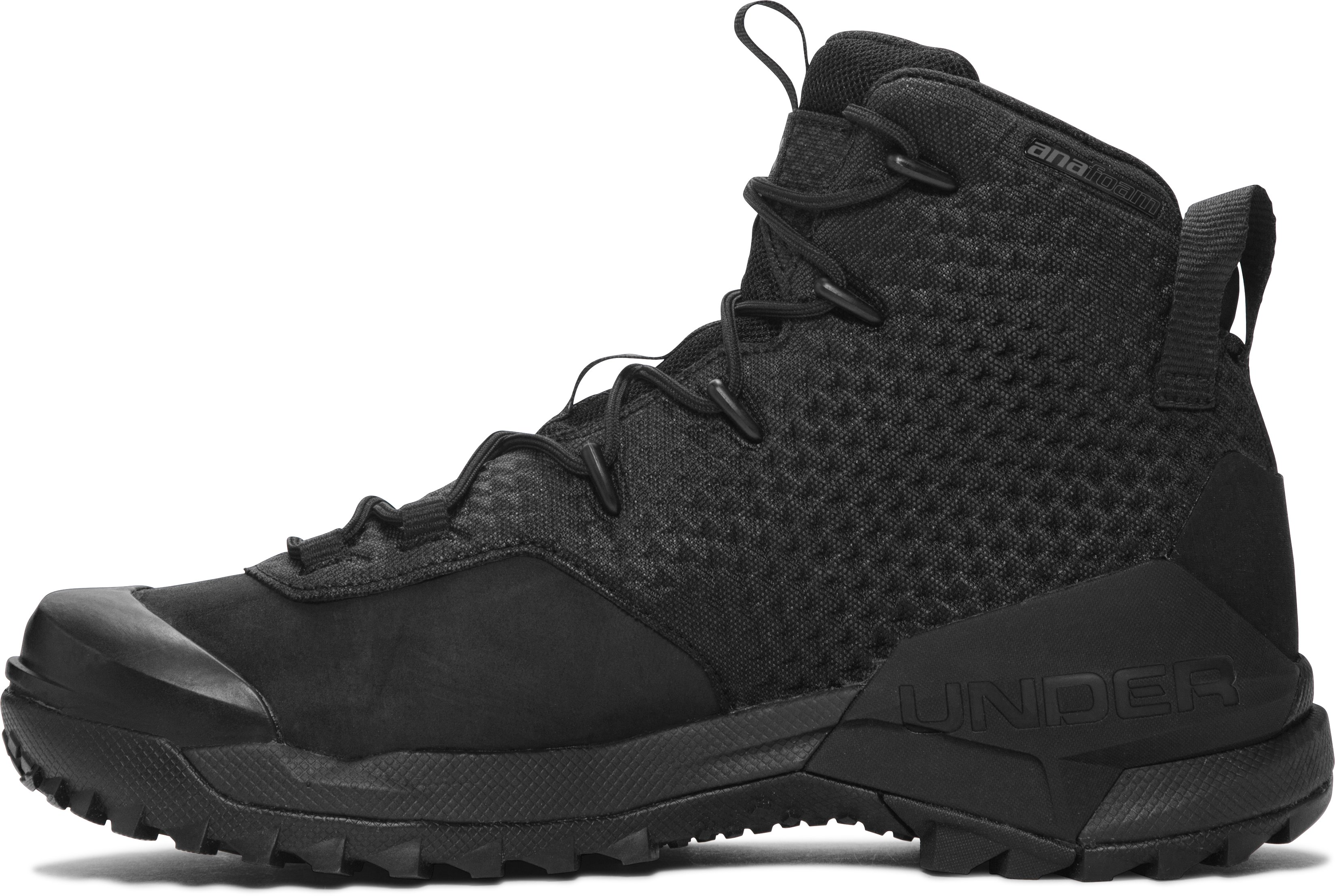 Men's UA Infil Hike GORE-TEX® Hiking Boots, Black ,