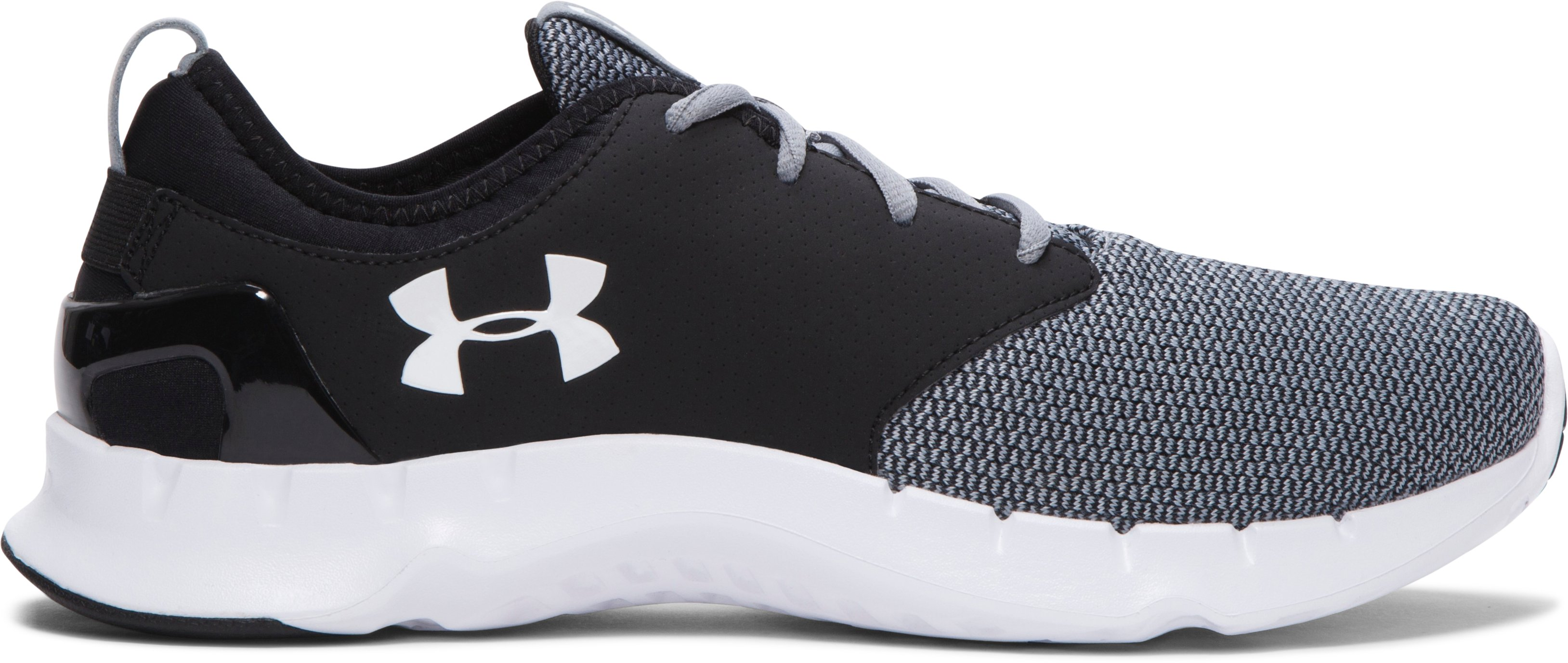 Men's UA Flow Sweater Running Shoes, Steel