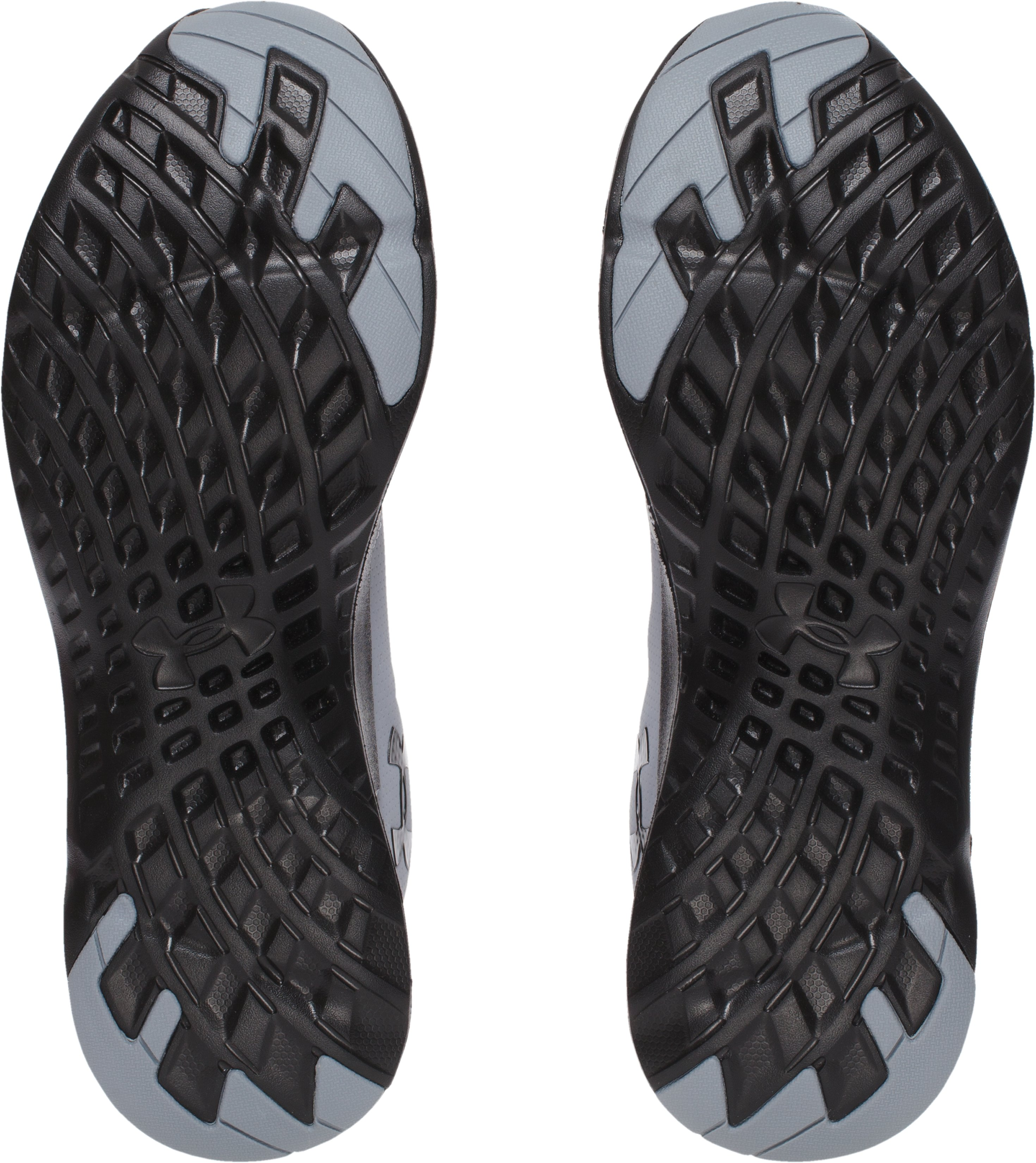 Men's UA Flow Sweater Running Shoes, Steel, undefined